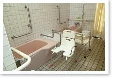 ご自宅での入浴にお困りの方も、デイケアで安全・快適にご入浴できます。